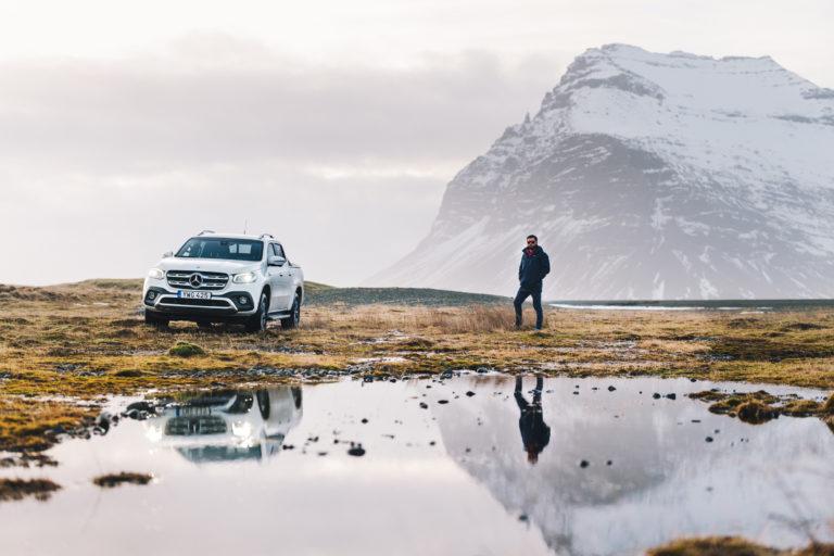 Mercedes-Benz X Class – Iceland